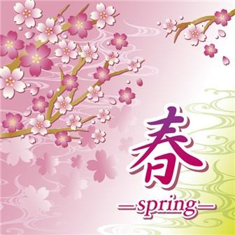 テーマポスター 春Spring  ツイート 商品名 : テーマポスター 春Spring 商品番号