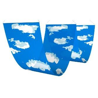 二連ペナント 空と雲