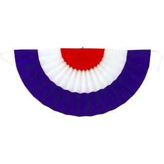 旭光幕(ポンジ) 半径45cm(赤/白/紺)