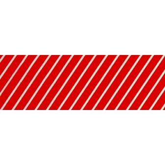 ビニール幕 ストライプ(赤)