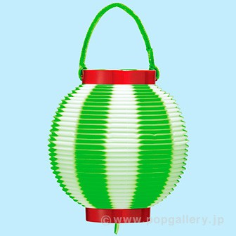 ポリ豆提灯(コンビ) グリーン