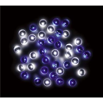 防滴160球LEDナイアガラライト(ホワイト/ブルー)