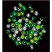防滴100球LEDライト(グリーングラデーション)