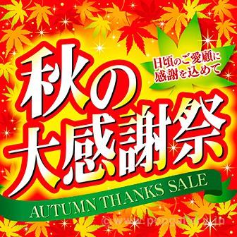 テーマポスター 秋の大感謝祭