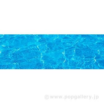 ラウンドシート 水面(写真)