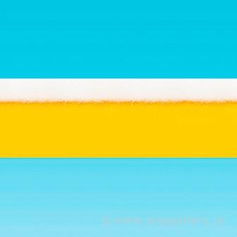 ラウンドシート ビール(写真)