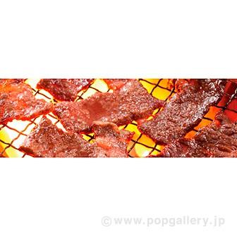 ラウンドシート 焼肉(写真)