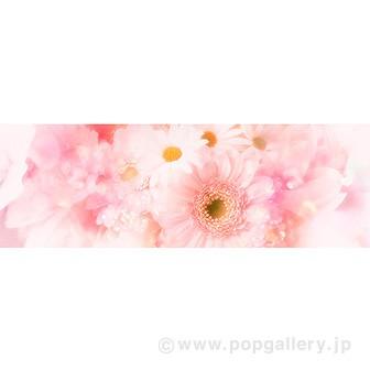 ラウンドシート 春の花(写真)