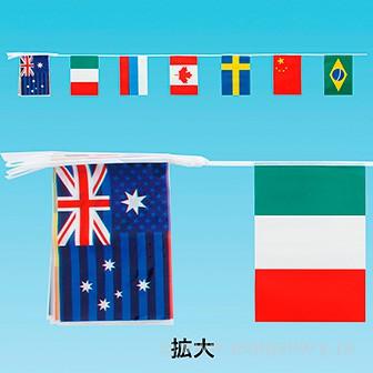 ビニール万国旗