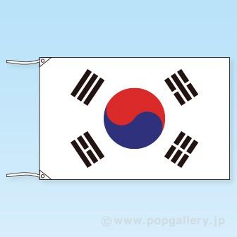 テトロン世界の国旗 韓国