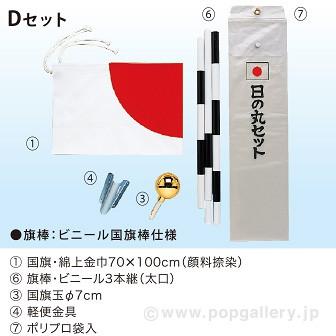 国旗セット Dセット
