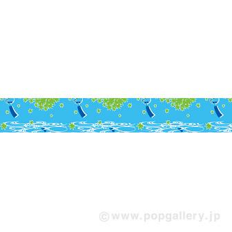ビニール幕 涼味(金魚) [45cm(H)]