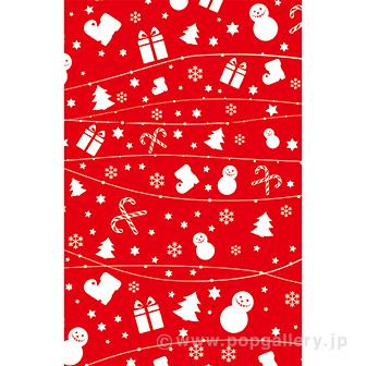 クリスマスOPP袋(小)
