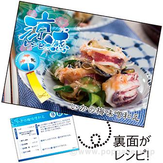 レシピ4種セット「涼感」(4種×各100枚)