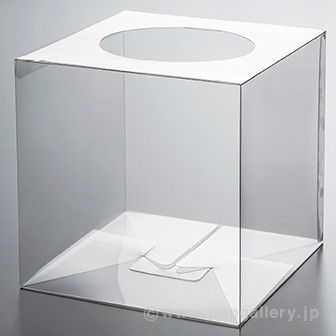 PET製 抽選箱(透明)
