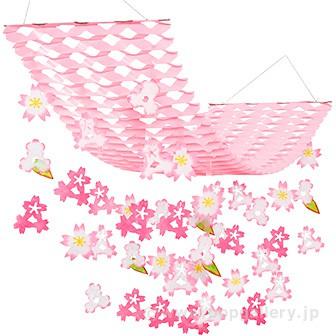 バリュー桜プリーツハンガー
