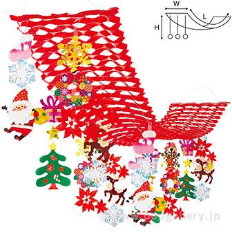 クリスマスキャロルプリーツハンガー