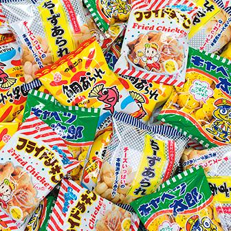 駄菓子詰め放題セット(約70〜90名様用)