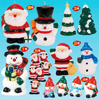 クリスマスキャンドルナイトプレゼント(100名様用)