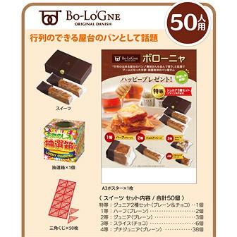 ボローニャハッピープレゼント(50名様用)