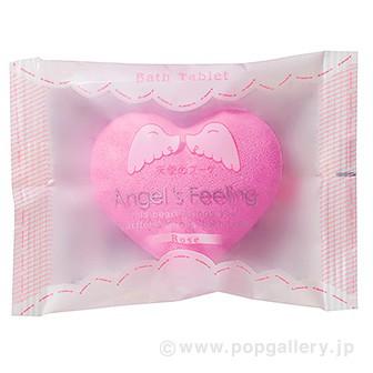 入浴剤 エンジェルフィーリング1P(天使のブーケ)ローズの香り
