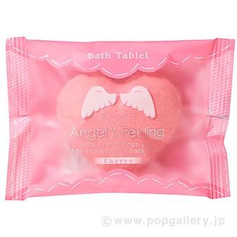 入浴剤 エンジェルフィーリング1P(天使のハート)チェリーの香り
