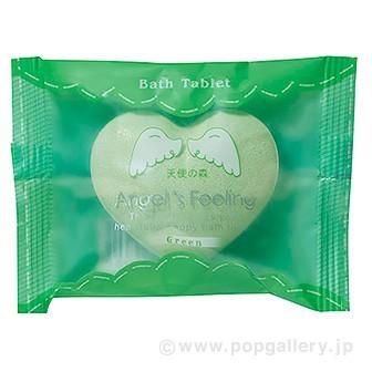 入浴剤 エンジェルフィーリング1P(天使の森)森林の香り