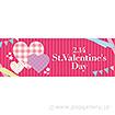 パラポスター St.ValentinesDay(チェック)