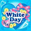 テーマポスター WhiteDay(ドット)