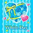 テーマポスター WhiteDay(バラ)
