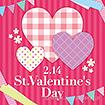 テーマポスター St.ValentinesDay(チェック)