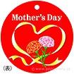 メッセージタグ Mothers Day(50枚入)