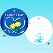 メッセージタグ Fathers Day(50枚入)