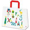 手提袋 ノルディック クリスマス M