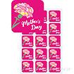 シール Mothers Day(300枚)