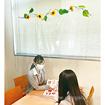飛沫防止カーテン【天井高2.5M用】(ひまわり付)