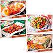 レシピ4種セット「おうちパーティ」(4種×各100枚)