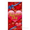 St.Valentine's Dayタペストリー(防炎加工)
