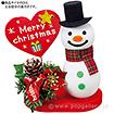 クリスマススノーマンPOP