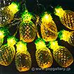 LED電池式ライト(パイナップル)