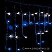 防滴100球LEDつららライト(ホワイト/ブルー)
