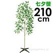 七夕笹&スタンドセット(210cm)