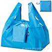 セルトナ・巾着ショッピングポータルブルエコバッグ(カラビナ付) ブルー