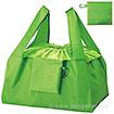 セルトナ・巾着ショッピングポータルブルエコバッグ(カラビナ付) グリーン