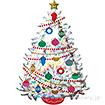 ポップバルーン(L−SHPイリディセントクリスマスツリー)