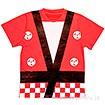 お祭りはっぴTシャツ(赤)