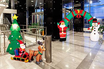 クリスマスエアブロー