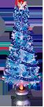150cmブルーリボンファイバーツリーセット