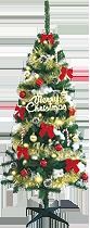 180cmクリスマスツリーセット