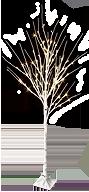 LED白樺ツリー(L)
